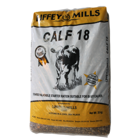 Calf starter ration