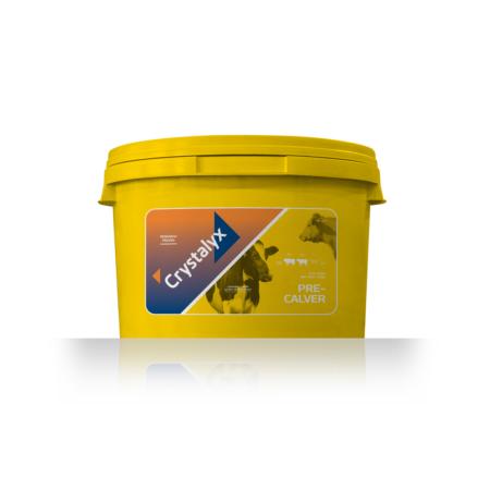Dairy minerals buckets Crystalyx Pre-Calver